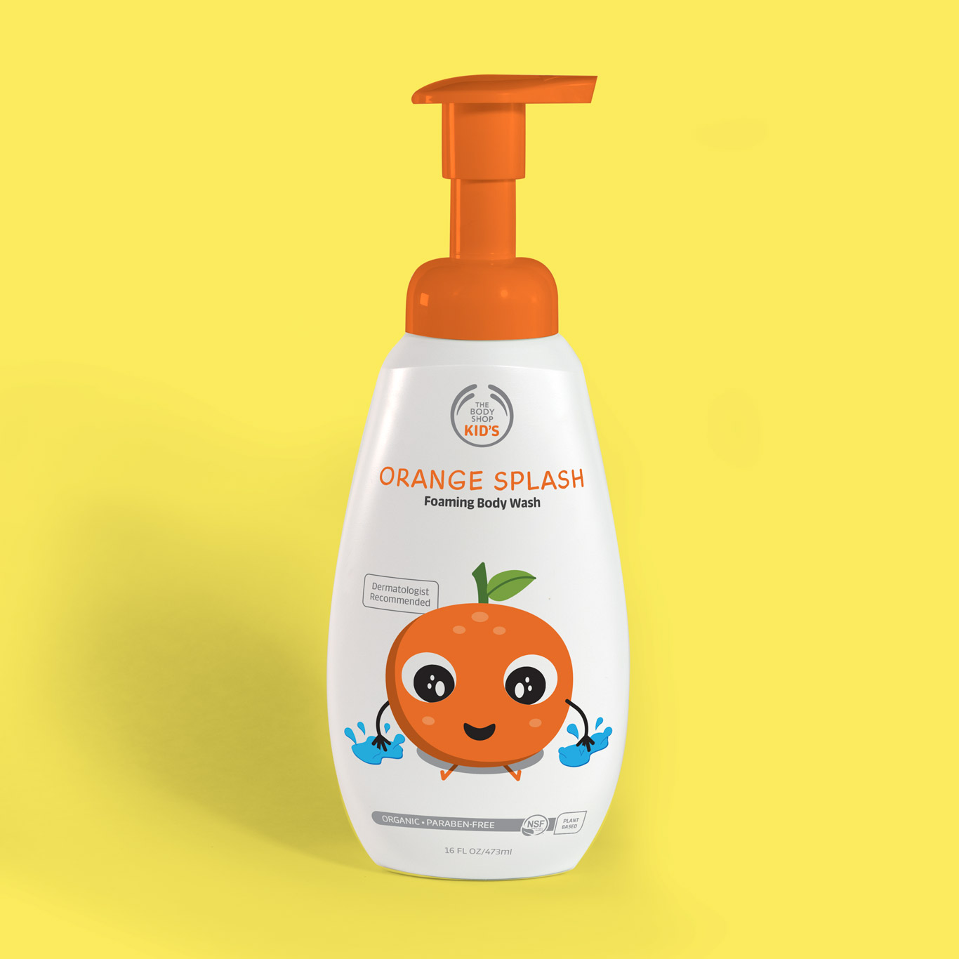 Orange Splash soap pump