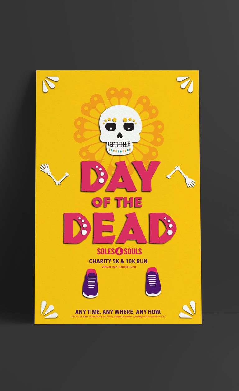 Day of the Dead poster in English