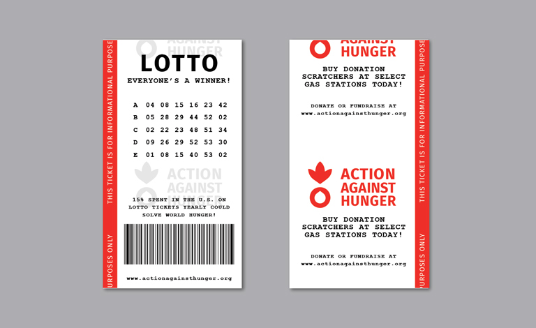 Lottery Ticket informational handout.